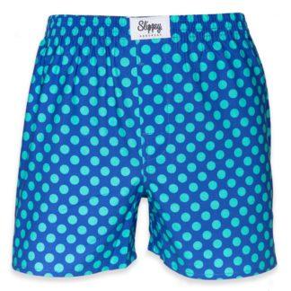 Slippsy modré pánské trenýrky Ocean