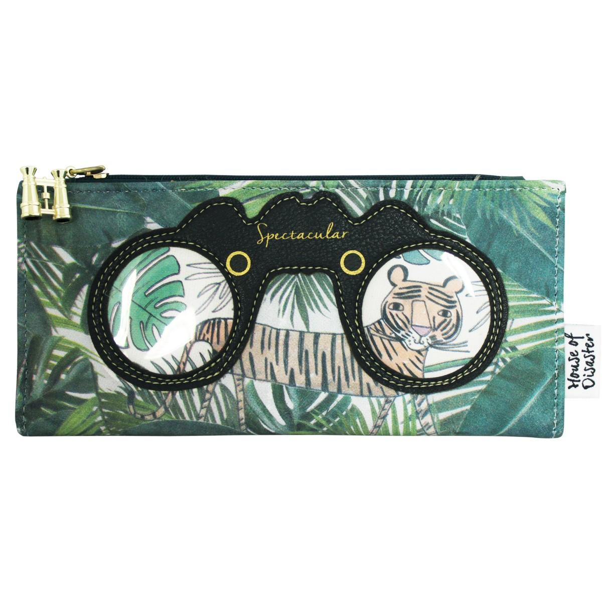 Disaster zelená peněženka Eyespy Tiger