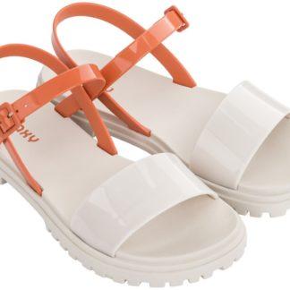 Zaxy béžové sandály Zoom Sand Plat Fem Beige