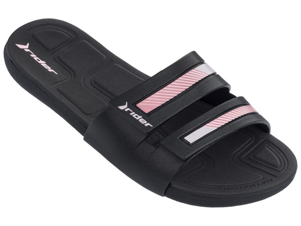 Rider černé pantofle Prana Ii Fem Black/Black