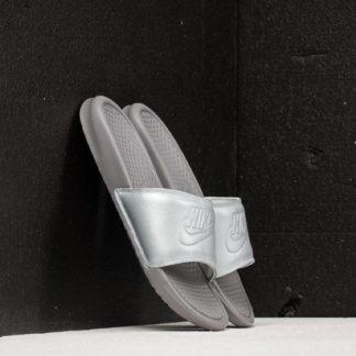 Nike Wmns Benassi JDI BP Metallic Silver