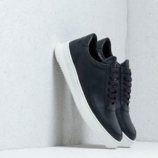 Filling Pieces Low Mondo Ripple Nardo Nappa Black
