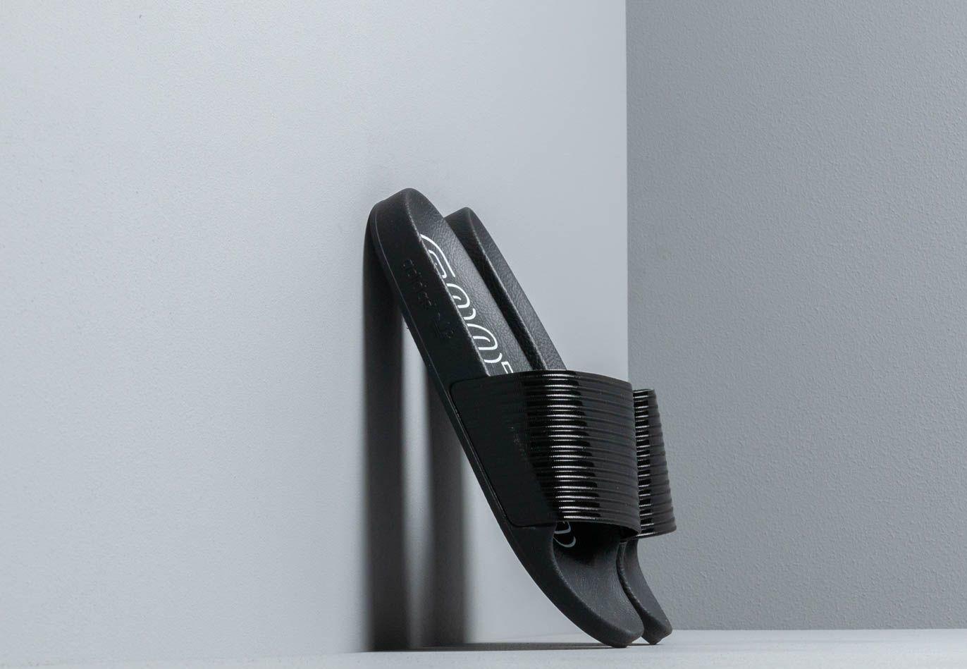 adidas Adilette W Core Black/ Core Black/ Ftw White