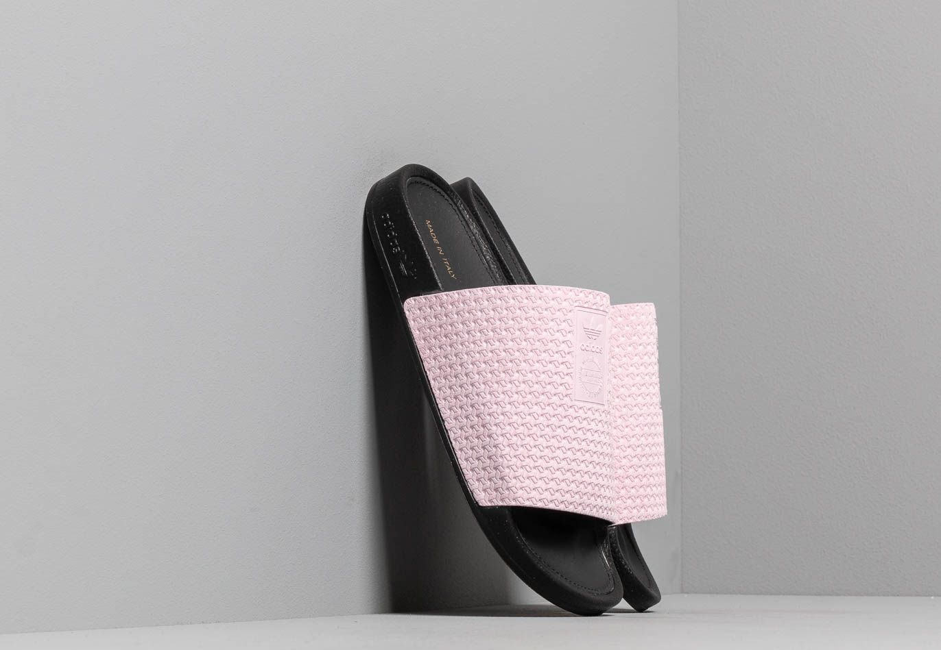 adidas Adilette Luxe W Clear Pink/ Core Black/ Gold Metalic