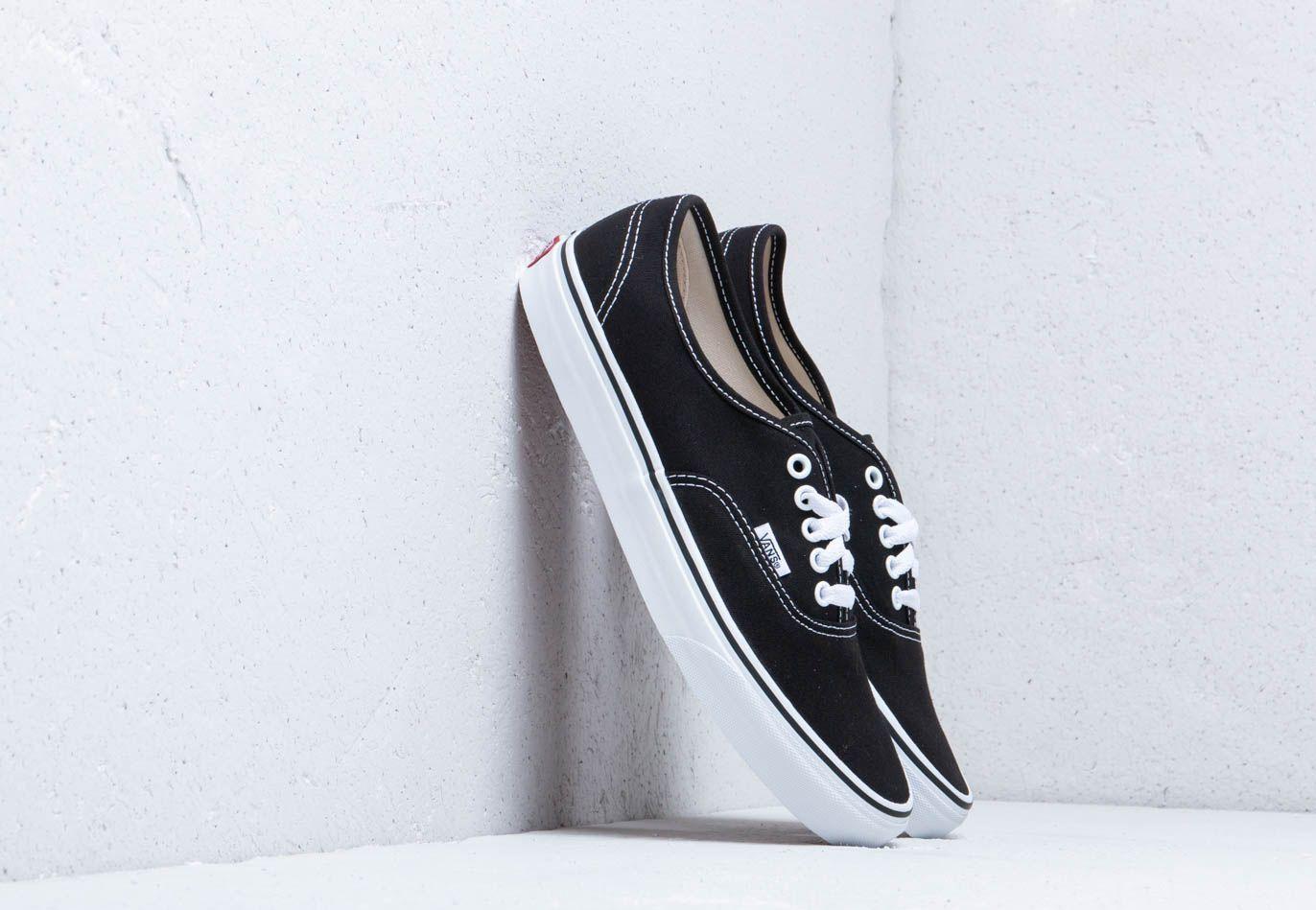 Vans Authentic Black/ True White
