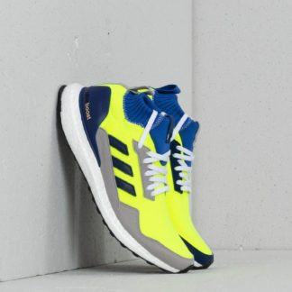 adidas Consortium Ultraboost Mid Solar Yellow/ Hi-Res Blue/ Ftw White