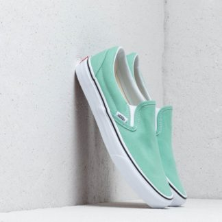 Vans Classic Slip-On Neptune Green/ True White