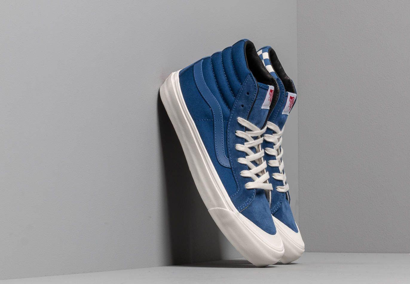 Vans OG Style 138 LX (Suede/ Canvas) True Blue/