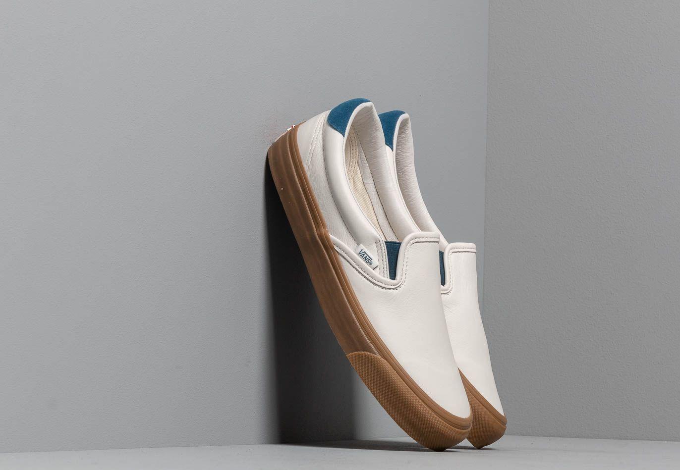 Vans OG Slip-On 59 LX (Leather/ Suede) Marshmallow