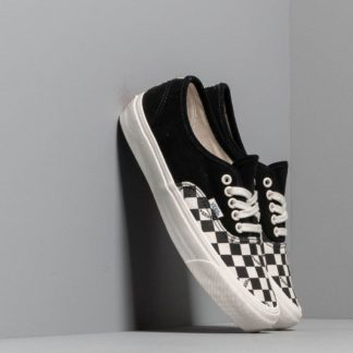 Vans OG Authentic LX (Suede/ Canvas) Black/ Checkerboard