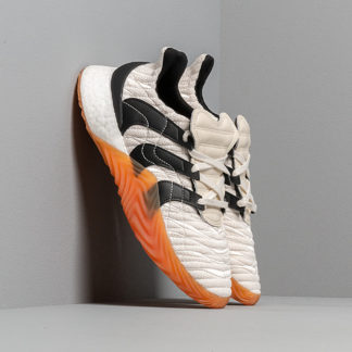 adidas Sobakov Boost Core White/ Core Black/ Clear Ochre