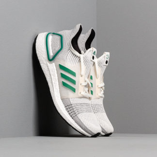 adidas Consortium UltraBOOST 19 Core White/ Sub Green/ Grey Two