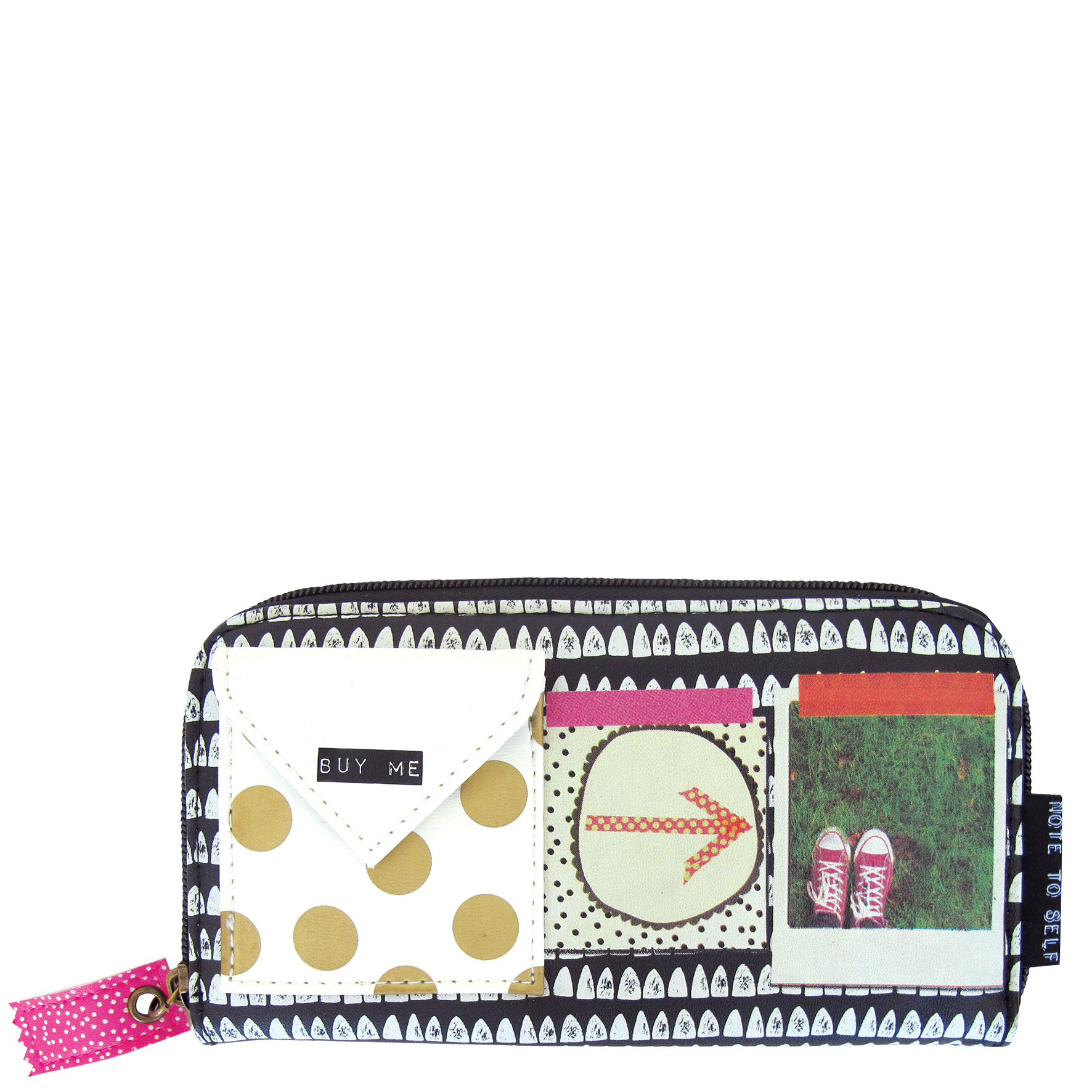 Disaster Designs peněženka Note To Self na zip