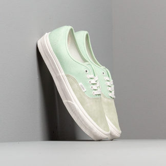 Vans Authentic (Washed Nubuck/ Canvas) Pale Green