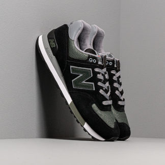 New Balance 574 Black/ Green