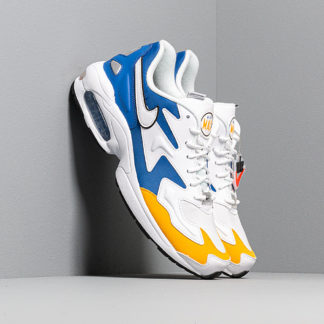 Nike Air Max2 Light Premium White/ White-University Gold-Game Royal
