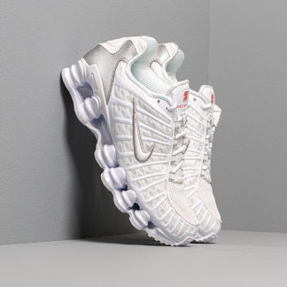 Nike W Shox Tl White/ White-Metallic Silver-Max Orange