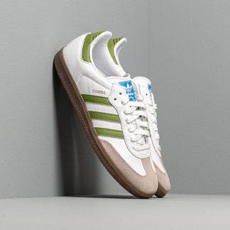 adidas Samba OG Ftw White/ Tech Olive/ Light Brown