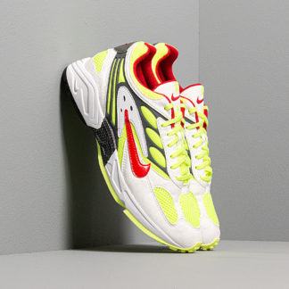 Nike Air Ghost Racer White/ Atom Red-Neon Yellow-Dark Grey