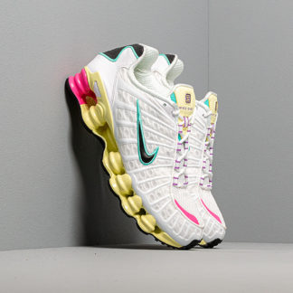 Nike W Shox Tl White/ Black-Luminous Green-Bright Violet