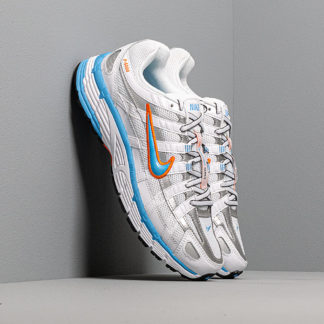 Nike W P-6000 White/ University Blue-Metallic Silver