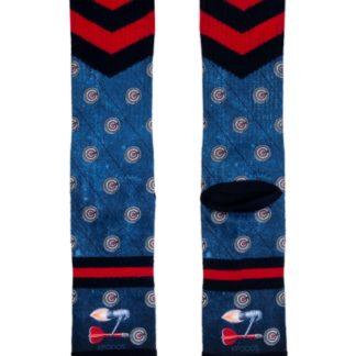 XPOOOS modré pánské ponožky Barney