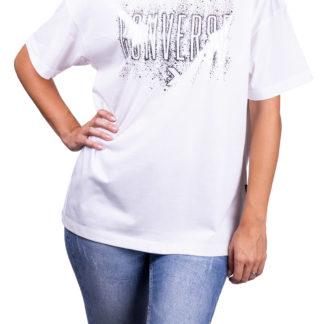 Converse bílé tričko White/Silver