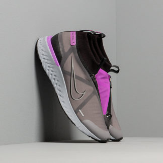 Nike React City Black/ Gunsmoke-Hyper Violet-White