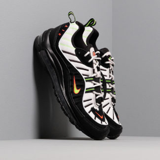 Nike Air Max 98 Platinum Tint/ Black-Electric Green