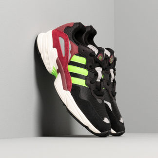 adidas Yung-96 Core Black/ Semi Green/ Core Burgundy