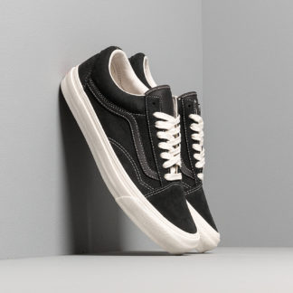 Vans OG Old Skool LX (Nubuck/ Leather) Raven/ Black
