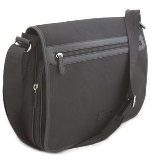 Černá pánská taška přes rameno Hexagona D72279 černá