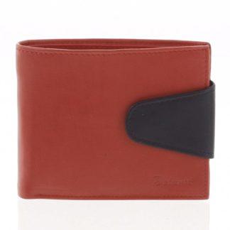 Pánská kožená peněženka červená - Delami 11816 červená