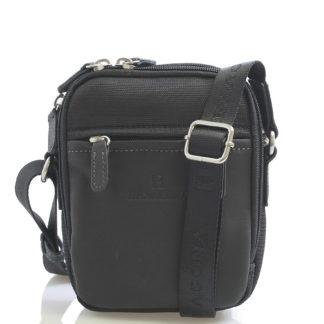 Černá pánská taška přes rameno Hexagona 291329 černá