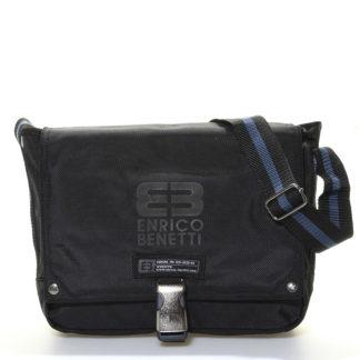 Černá taška přes rameno Enrico Benetti 4476 černá