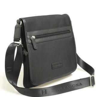 Černá taška přes rameno Hexagona D72248 černá