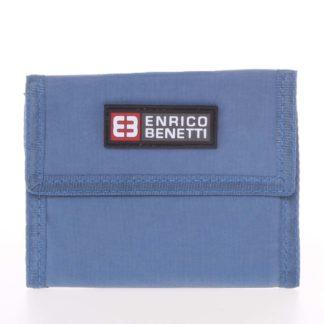 Jeansová látková peněženka Enrico Benetti 14607 modrá