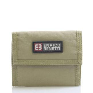Písková látková peněženka Enrico Benetti 14607 hnědá