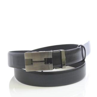 Pánsky oblekový opasek automatický černý - Maxim černá