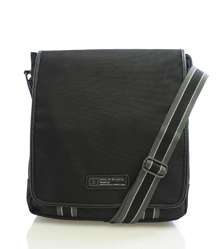 Černá taška přes rameno Enrico Benetti 4472 černá