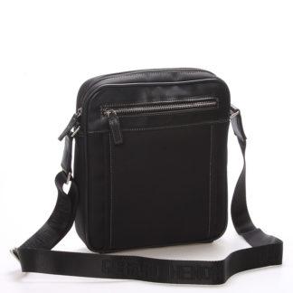 Pánská taška přes rameno na doklady černá - Gerard Henon Jacques černá