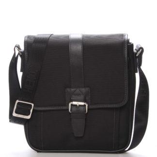 Pánská taška přes rameno na doklady černá - Gerard Henon Florus černá