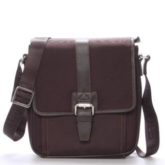 Pánská taška přes rameno na doklady hnědá - Gerard Henon Florus hnědá