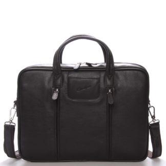 Luxusní kožená taška přes rameno hnědá - Gerard Henon Derell hnědá