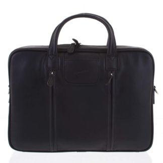 Luxusní kožená taška přes rameno černá - Gerard Henon Derell černá