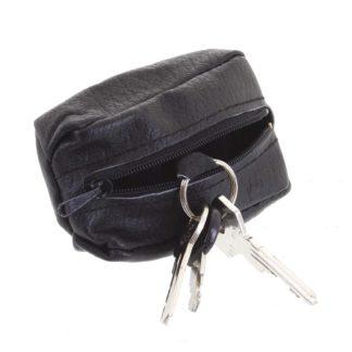 Kožená klíčenka SendiDesign černá - KL002 Wide černá