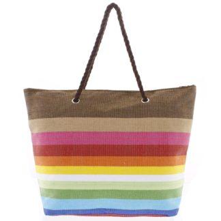 Barevná plážová taška - Delami Color New barevná