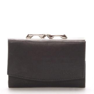 Stylová černá dámská peněženka - Delami 9368 černá