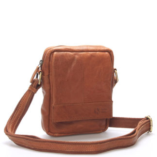 Stylová kožená taška světle hnědá - Sendi Design Perth hnědá