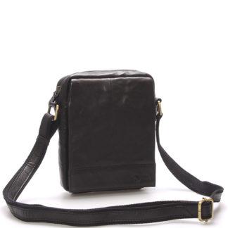 Stylová kožená taška černá - Sendi Design Perthos černá